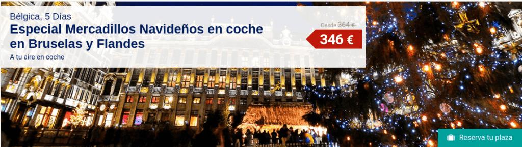 Mercados navideños belgica puente de diciembre