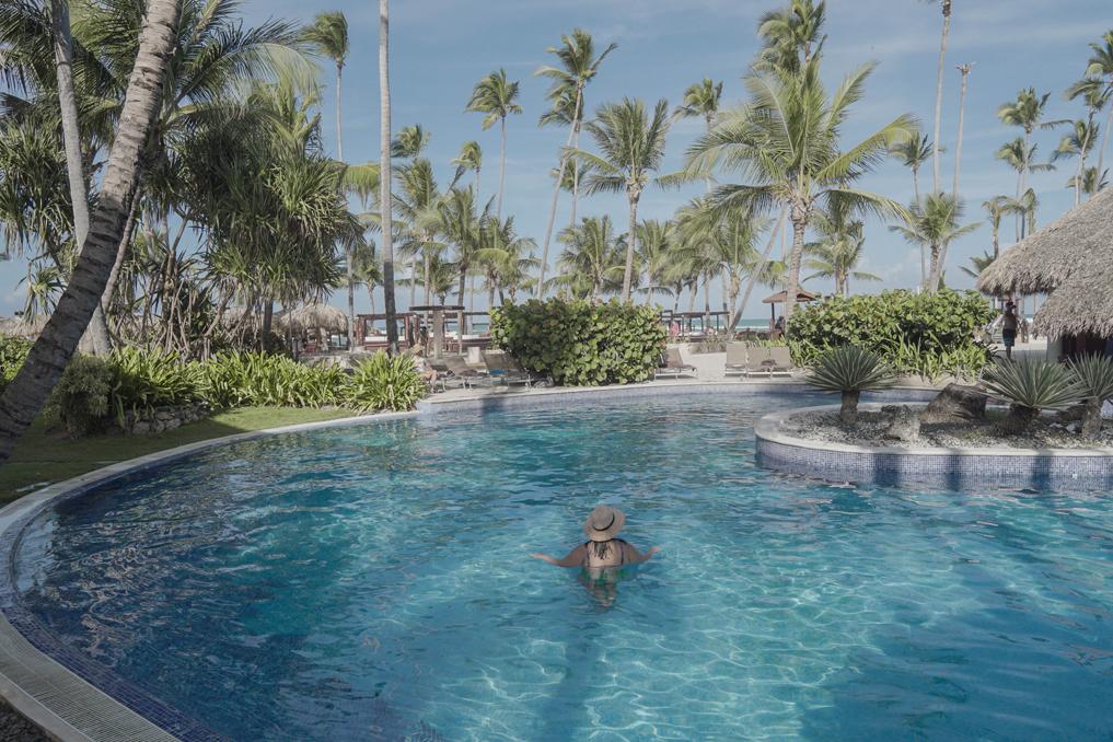 piscinahoteldreamspuntacana 4  Viaje seu Mundo