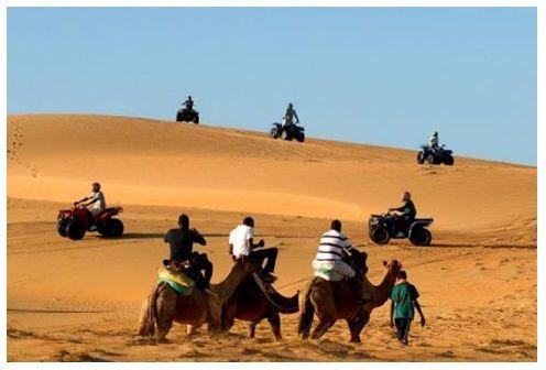 Descubre el desierto de Lompoul
