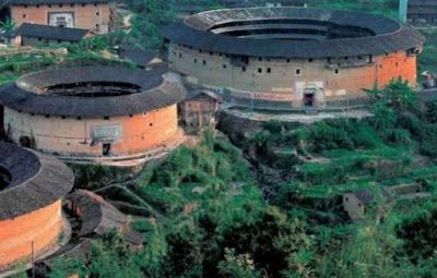 Casas Circulares en Fujian China