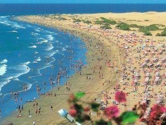 Playa de Maspalomas en Gran Canaria