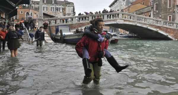 Venecia y sus Aqua  Alta
