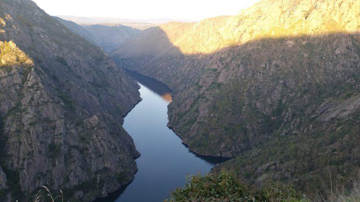 Los cañones del Sil. Ribeira Sacra (Galicia, España).