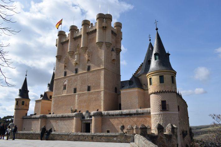 Alcázar de Segovia. 5 de los castillos más impresionantes de España.