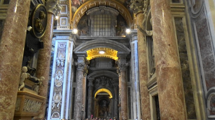 Basílica de San Pedro. El Vaticano (Ciudad del Vaticano)