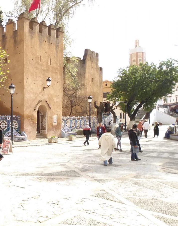 Plaza Uta El Hamman. Chefchaouen (Marruecos)