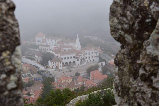 Vista desde Castelo dos Mouros. Sintra (Portugal)