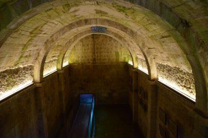 Cisterna. Castelo dos Mouros. Sintra (Portugal)