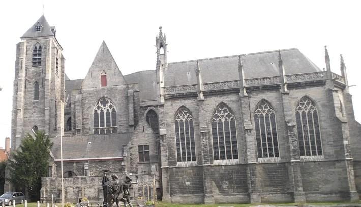 Onze Lieve VrouweKerk. Kortrijk / Courtrai (Bélgica)