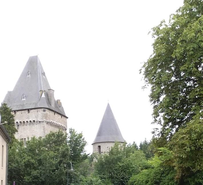 Luxemburgo. Castillo de Hollenfels