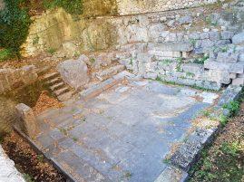 Fuente de Castalia. Delfos (Grecia)