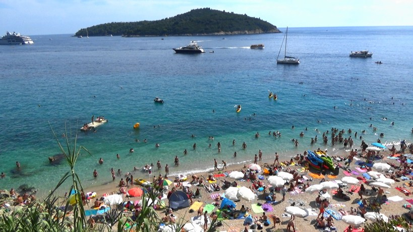 Vistas de la isla Lokrum. Dubrovnik (Croacia)