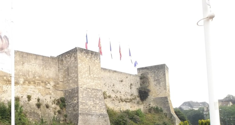 Castillo. Caen (Francia)