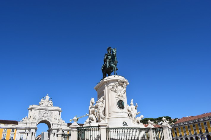Plaça do Comercio. Lisboa (Portugal)