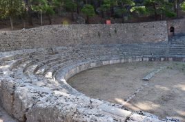 Estadio. Delfos (Grecia)