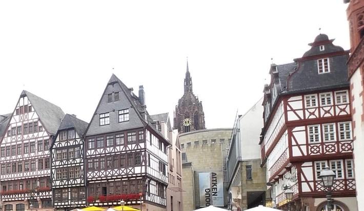 Plaza Römerberg. Frankfurt (Alemania)