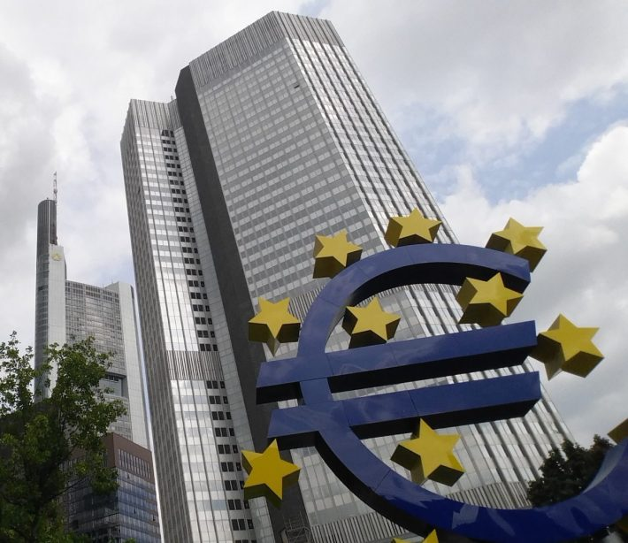 Banco Central Europeo. Frankfurt (Alemania)