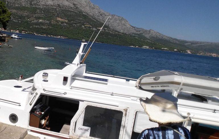 Barco Kórcûla a Orebic