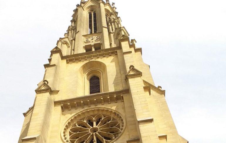 Temple de Garnison. Metz (Francia)