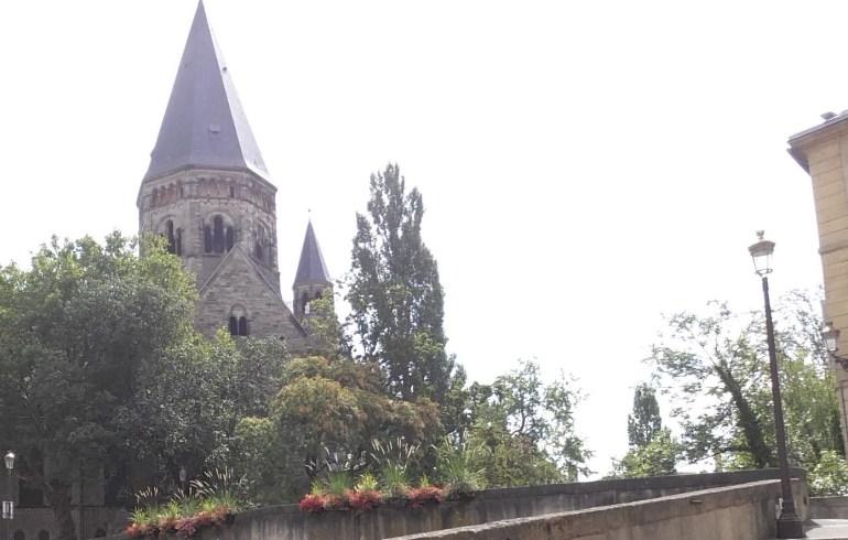 Temple de Neuf. Metz (Francia)
