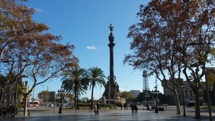 Estatua de Colón. Barcelona (España)