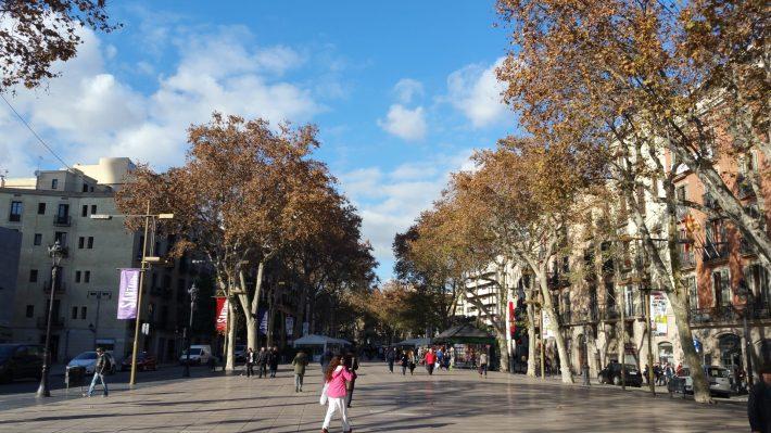 Las Ramblas. Barcelona (España)