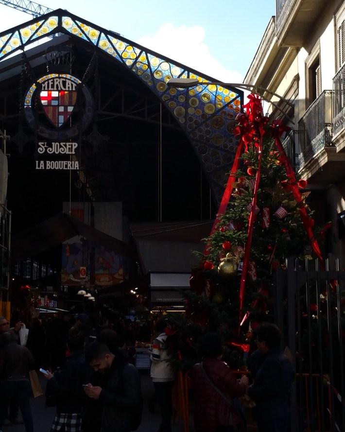 Mercado La Boquería. Barcelona (España)