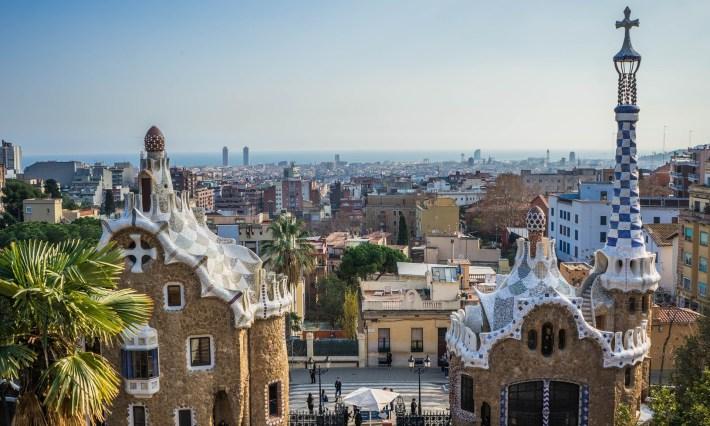 Park Güell. Barcelona (España)