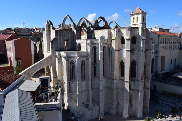 Convento do Carmo. Lisboa (Portugal)
