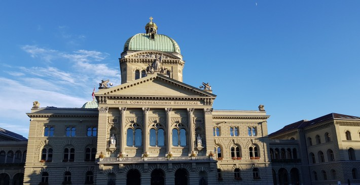 Bundeshaus. Berna (Suiza)