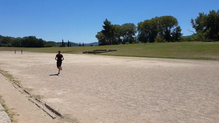 Stadium. Olimpia (Grecia)