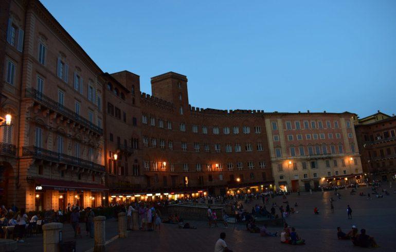 Piazza di Campo. Siena (Italia)