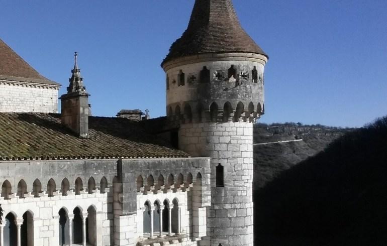 Palacio Abacial. Rocamadour (Francia)