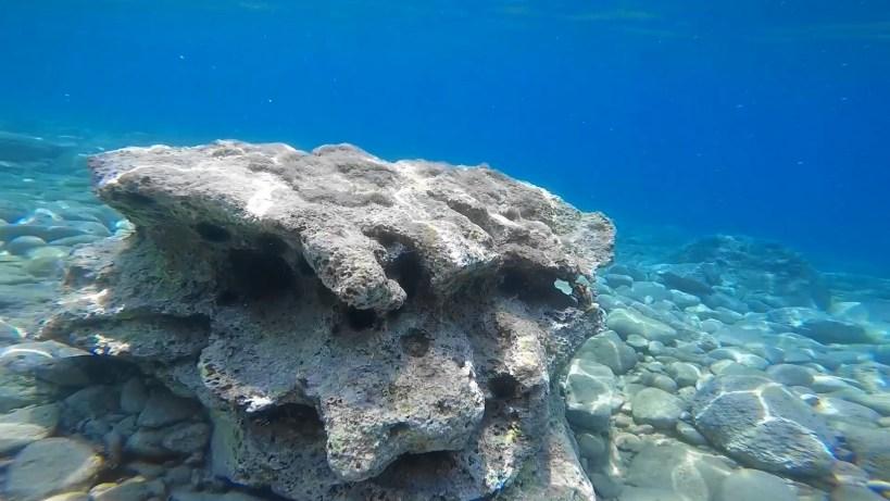 Snorkel en Limeni, Peloponeso (Grecia)