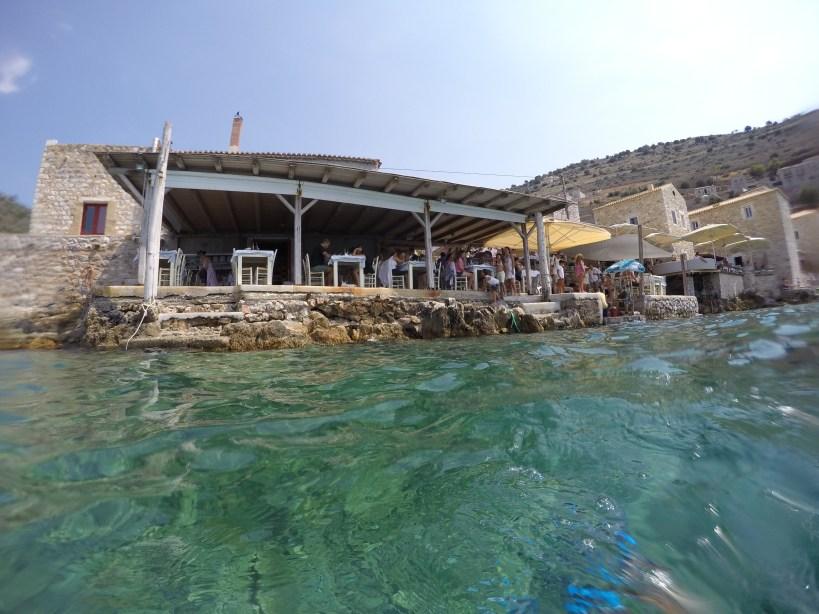 Marisquería O Takis. Limeni, península de Mani, Peloponeso (Grecia)