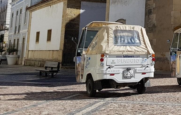 Tuk Tuk. Tomar (Portugal)