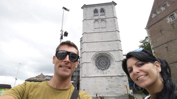 Collégiale Notre-Dame (Catedral de Nuestra señora de Huy). Huy (Bélgica)