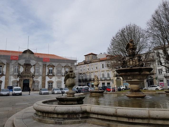 Ayuntamiento. Braga (Portugal)