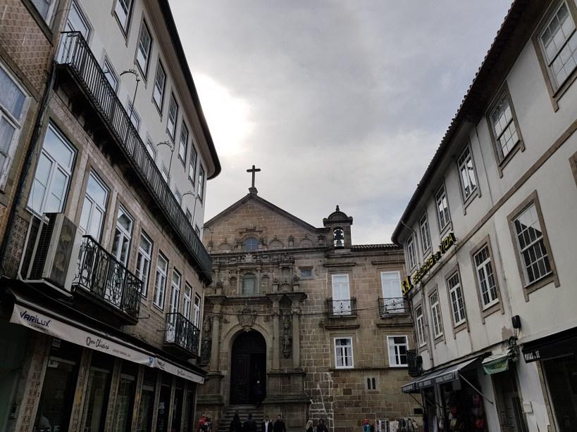 Fachada Igreja da Misericordia. Braga (Portugal)