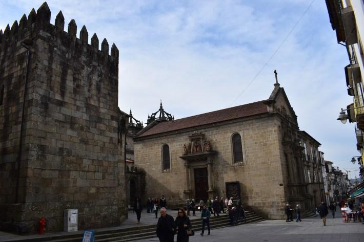 Igreja da Misericordia. Braga (Portugal)