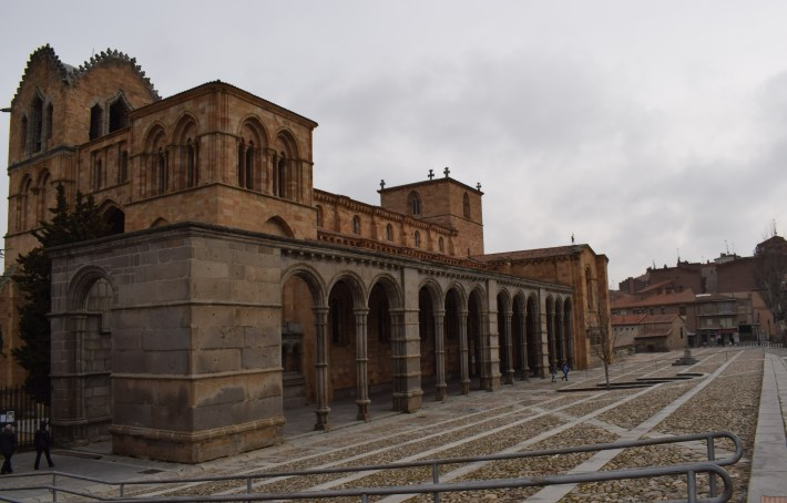 Basílica de San Vicente. Ávila (España)