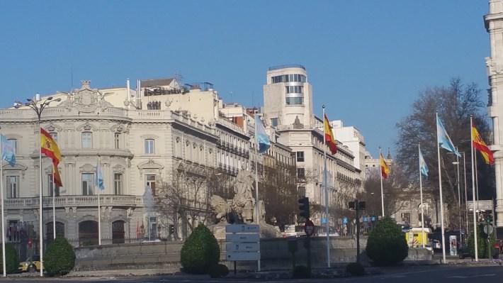 Fuente de la Cibeles. Madrid (España)