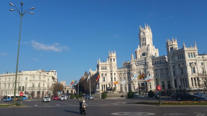 Plaza de Cibeles. Madrid (España)