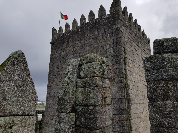 Torre del Homenaje, Castillo. Guimarães (Portugal)