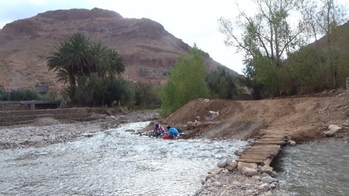 Río Todra. Tizgui (Marruecos)