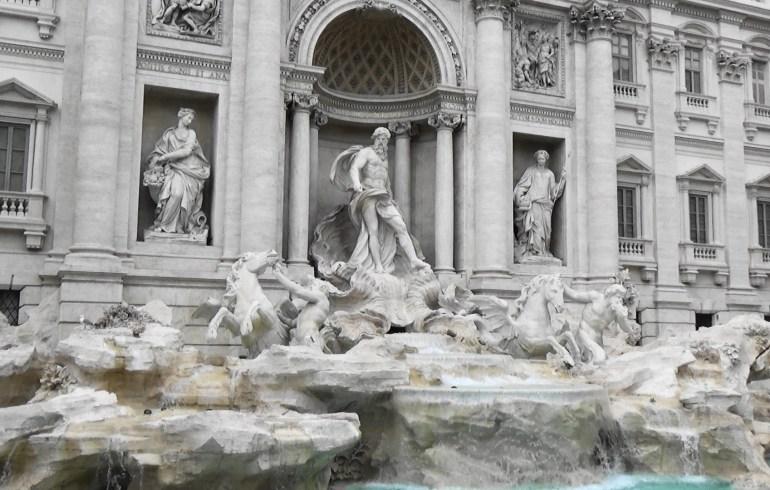 Fontana di Trevi, Roma (Italia)