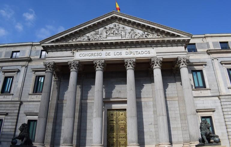 Congreso de los Diputados. Madrid (España)