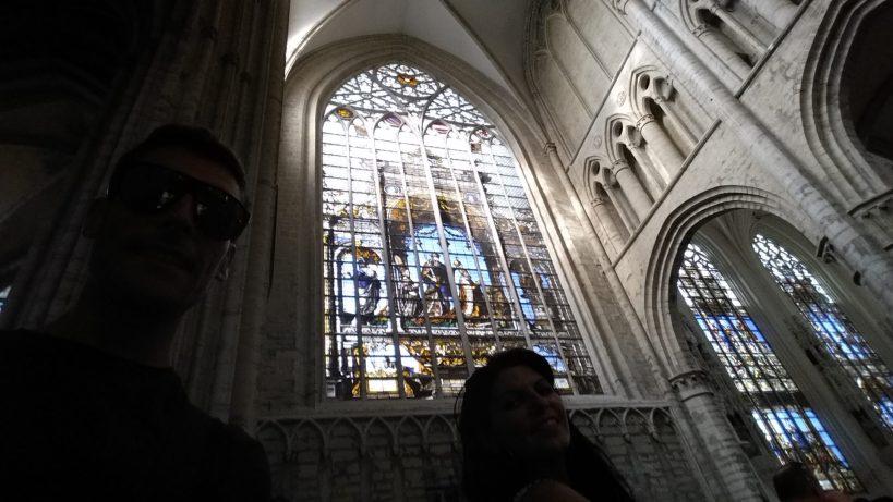 Cathédrale des Saint Michel el Gudule, Bruselas (Bélgica)