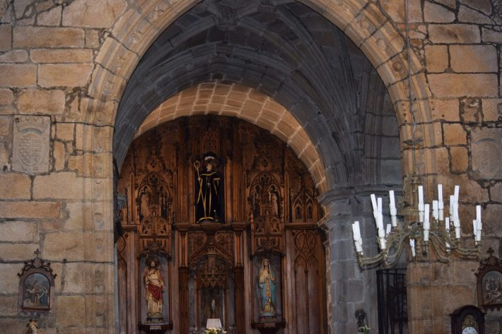 Iglesia de San Bieito, Cambados, Galicia (España)