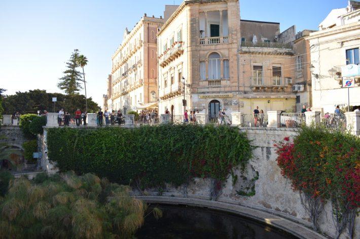 Fontana Aretusa, Siracusa, Sicilia (Italia)